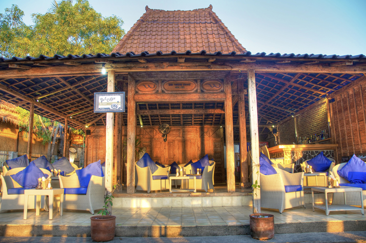 Restaurant at the Waterfront Gili Air